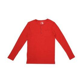Organic Thermal Men's Pajama Set, Ruby