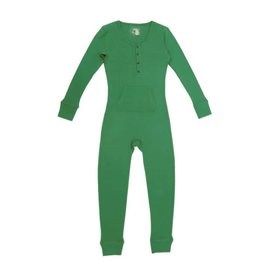 Organic Thermal Women's Onesie, Emerald