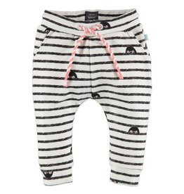 Penguin Sweats, Ivory Stripe