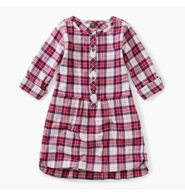 Flannel Shirtdress, Classic Plaid