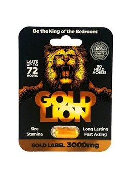Gold Lion SIngle Pack