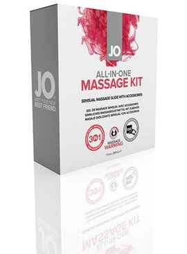 System JO JO All-In-One Massage Kit