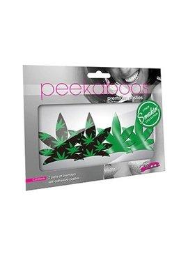 Peekaboos Eye Candy Up In Smoke Leaves Pasties