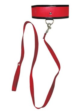 Sex and Mischief Red Leash and Collar