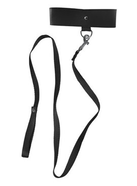 Sex and Mischief Black Leash and Collar