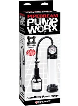 Pipedream Pump Worx Accu-Meter Power Pump