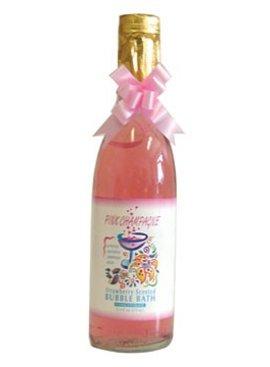 Kingman Industries Pink Champagne Bubble Bath