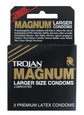 Condoms Trojan Magnum LRG Condoms