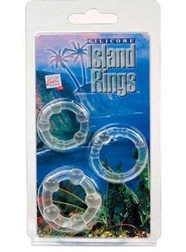 California Exotics Silicone Island Rings