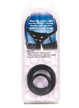 Rubber O-Rings - 4 Pack