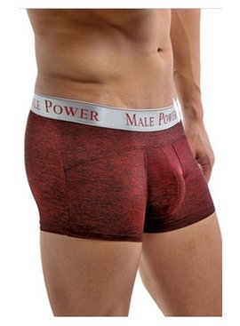 Male Power Mini Short With Paneled Pouch