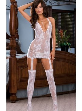Dreamgirl Florence Dress Bodystocking