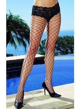Dreamgirl Boy Short Fence Net Pantyhose