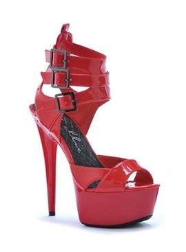 Ellie Shoes Athena Red Heel