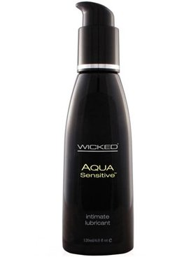 Wicked Sensual Care Aqua Water-Based Sensitive Lubricant