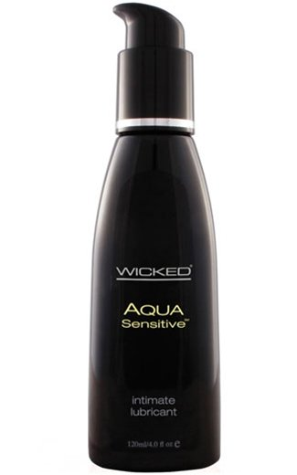 Wicked Sensual Care Aqua Water-Based Sensitive Lubricant