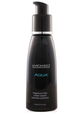 Wicked Aqua Water-Based Lubricant