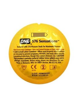 Paradise Marketing Services One 576 Sensations Condom