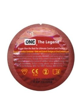 Paradise Marketing Services One The Legend Condom