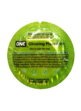 Paradise Marketing Services One Glowing Pleasure Condom Bulk