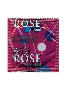 Caution Wear Caution Wear Wild Rose Condom