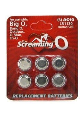 Screaming O AG10 or LR1130 Batteries