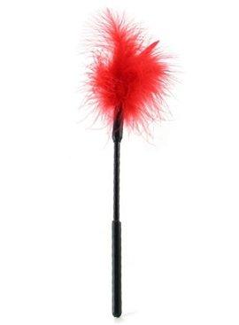 Sex & Mischief Feather Tickler - Red