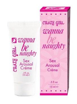 Classic Erotica Crazy Girl Wanna Be Naughty Cream