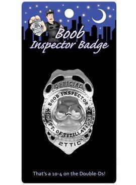 1 Boob Inspector Badge