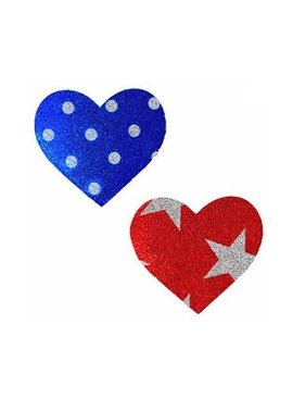 1 Wonder Woman Heart Pasties