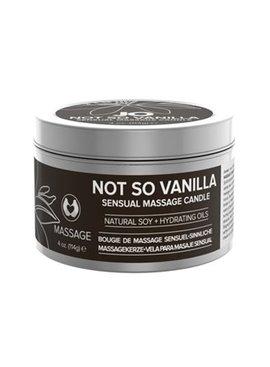 System Jo JO Soy Sensual Massage Candle Not So Vanilla - 4 oz