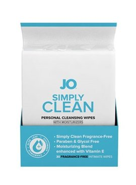 System JO JO Personal Wipes - 30 Pack
