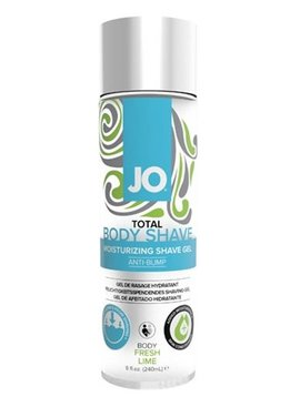 JO Total Body Intimate Shave Gel Fresh Lime