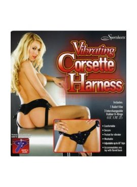 Vibrating Corsette Harness