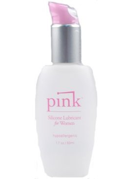 Pink Silicone Lube 1.7 OZ