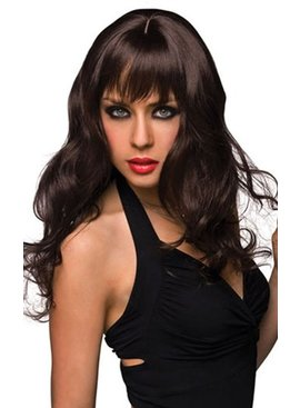 L Wigs Joey Long Wig - Black