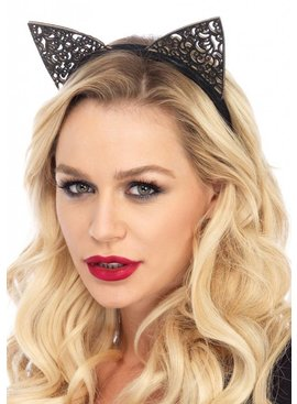 Leg Avenue Filigree Glitter Cat Ears