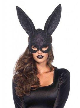 Leg Avenue Glitter Masquerade Rabbit Mask