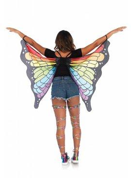 Leg Avenue Rainbow Butterfly Wings