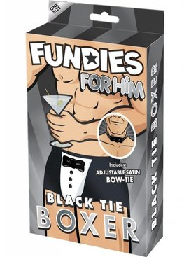 Xgen Products Fundies Black Tie Boxer With Bowtie
