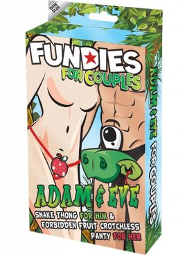Xgen Products Fundies One Eye Monster And Crotchelss Secret Apple Set