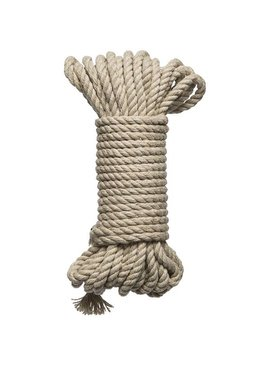 KINK - Hogtied - Bind & Tie - 6mm Hemp Bondage Rope - 30 Feet