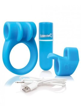 Screaming O Charged Combo Kit (blue)