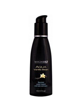 Aqua Water-Based Flavored Lubricant - Vanilla
