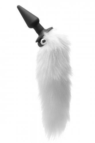 XR Brands Tailz Whitefox Vibrating Anal Plug