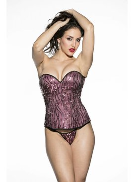 30%OFF Shirley of Hollywood Sequin Corset