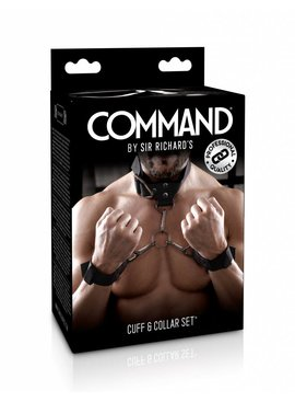 Sir Rich Command Sir Richard's Command Cuff & Collar Set