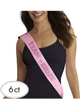 Bachelorette Team Bride Sash