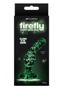 New Sensations Firefly Angled Glass Plug