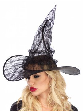 Leg Avenue Lace Witch Hat